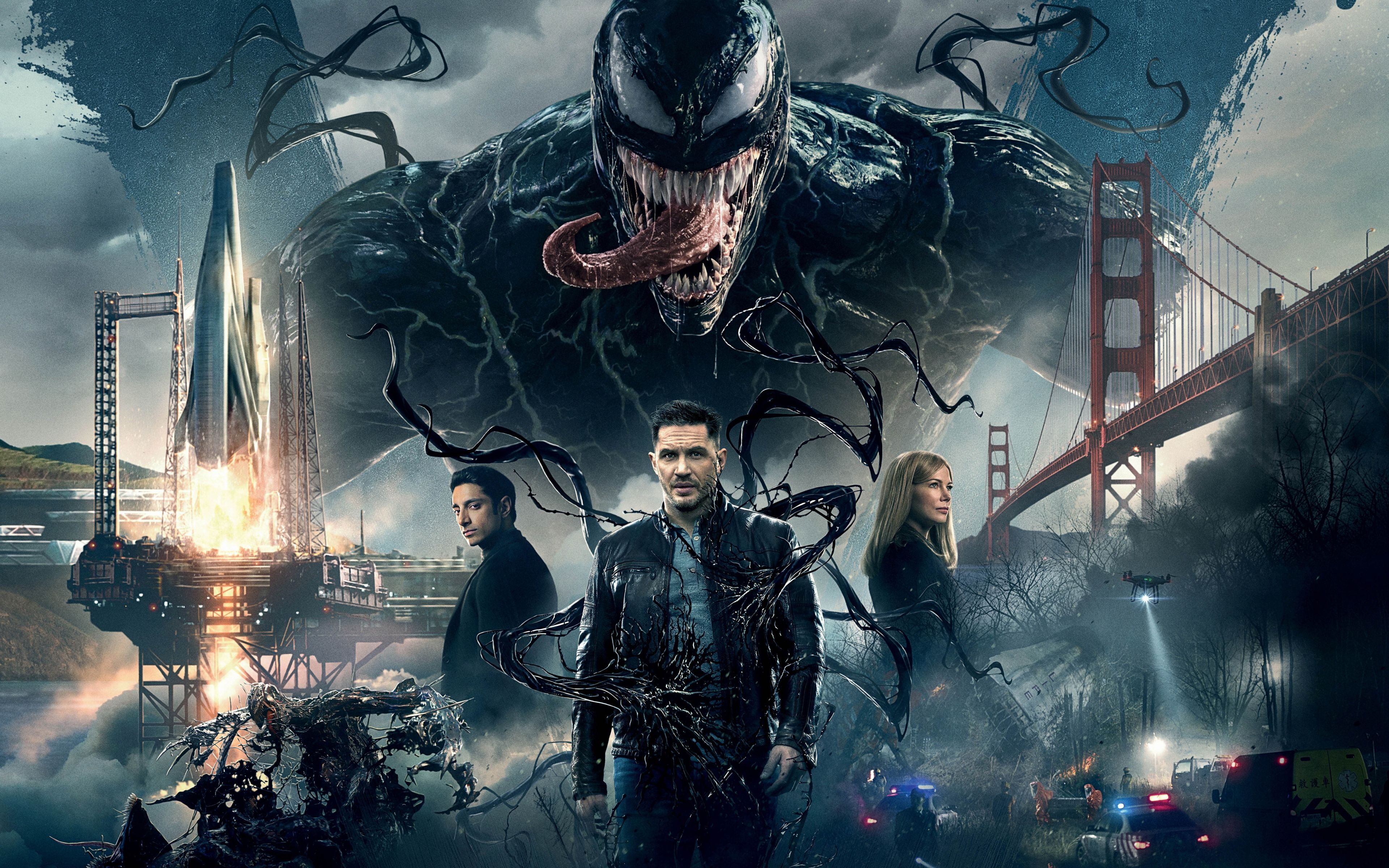 43 Venom Movie Wallpapers Hd 4k 5k For Pc And Mobile Download Free Images For Iphone Android